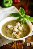 Пюре супа от различных овощей и грибов Стоковые Фото