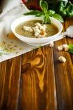 Пюре супа от различных овощей и грибов Стоковое фото RF