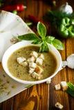 Пюре супа от различных овощей и грибов Стоковое Изображение