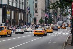 Пятая авеню New York City Стоковые Изображения