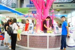 Пятая выставка обменом проекта призрения Китая Стоковые Изображения RF