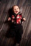 Пятимесячный старый мальчик Стоковое Фото