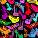 Пятка ботинок моды ультрамодная высокая бесплатная иллюстрация