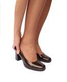 пятки рукоятки коричневые Стоковые Фото