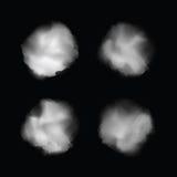 Пятна акварели вектора для вашего дизайна Стоковое Фото
