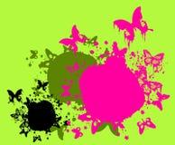 пятна бабочек цветастые Стоковые Изображения RF