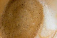 Пятна кофе на стекле Стоковые Изображения RF