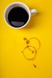 Пятна кофе Стоковое Изображение RF