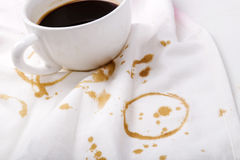 Пятна кофе Стоковые Фотографии RF