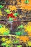Пятна краски Стоковая Фотография RF
