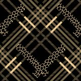 Пятна леопарда картины шотландского grunge тартана безшовные тартан с стилем леопарда 10 eps бесплатная иллюстрация