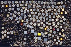 Пятна ожога лазера Стоковая Фотография