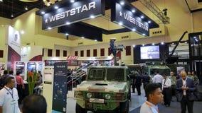 пятнадцатая оборона обслуживает выставку 2016 Азии Стоковое Фото
