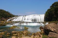 Пятно водопада Huangguoshu сценарное Стоковые Фото