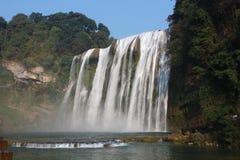 Пятно водопада Huangguoshu сценарное Стоковая Фотография