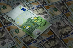 Пятно евро светлое Стоковая Фотография