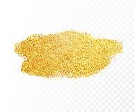Пятно золота вектора иллюстрация вектора