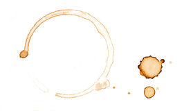 пятно кофе Стоковая Фотография