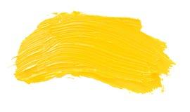 Пятно краски масла изолированное на белизне Стоковые Изображения RF