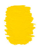 Пятно краски масла на белизне Стоковые Фотографии RF