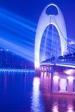 пятно места ночи моста светлое Стоковое Изображение