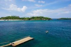 Пятно пейзажа в острове Boracay Стоковые Изображения RF