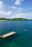 Пятно пейзажа в острове Boracay Стоковая Фотография