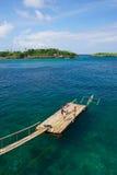 Пятно пейзажа в острове Boracay Стоковая Фотография RF