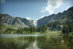 Пятое озеро Каракол Стоковое фото RF