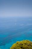 Плавание летнего времени в Греции Стоковая Фотография