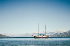 Плавание корабля Стоковое Изображение RF