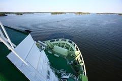 Плавание круиза в Стокгольме Стоковые Фотографии RF