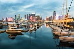 Плавание Qingdao олимпийское Стоковые Фотографии RF