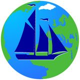 Плавание ship-15 Стоковое Фото