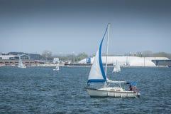 Плавание Yatch Стоковая Фотография RF
