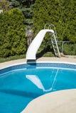 Плавательный бассеин задворк Стоковые Изображения RF