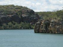 Плавать в Бразилии Стоковое фото RF
