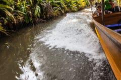 Плавать в джунглях стоковые изображения rf