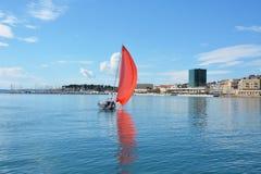 Плавать в Хорватии Стоковое Фото