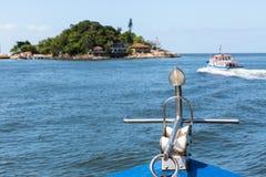 Плавать к острову Palmas Стоковое Фото