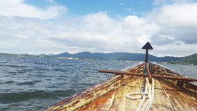 Плавать над морем Стоковые Изображения RF
