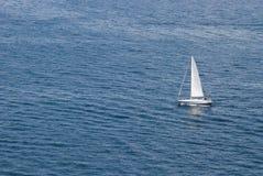 Плавать на море Стоковое фото RF