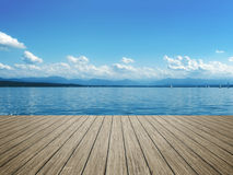 Плавать на озере Starnberg Стоковые Фото