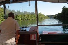 Плавать на реке Adda Стоковое фото RF