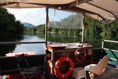 Плавать на реке Adda Стоковое Фото