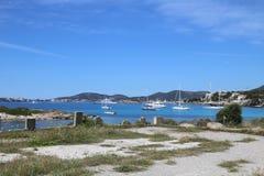 Плавать на Balearics стоковое изображение rf