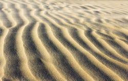 Текстура песка с плавая песком поперек Стоковая Фотография RF