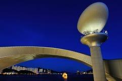 Плавать светлая башня Стоковое Фото