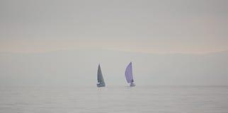 Плавать яхты, Ilse de Porquerolles стоковое фото