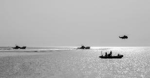 Плавающий транспортер Стоковое Изображение